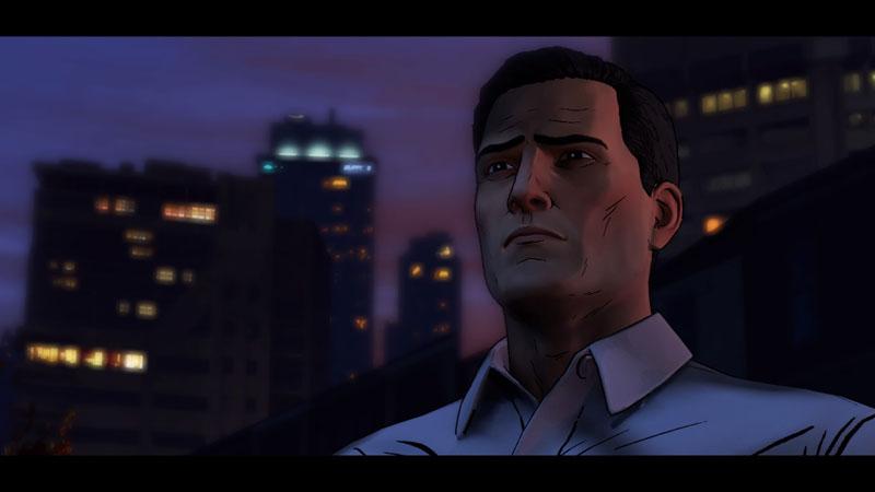 Bruce Wayne dans Batman Telltale