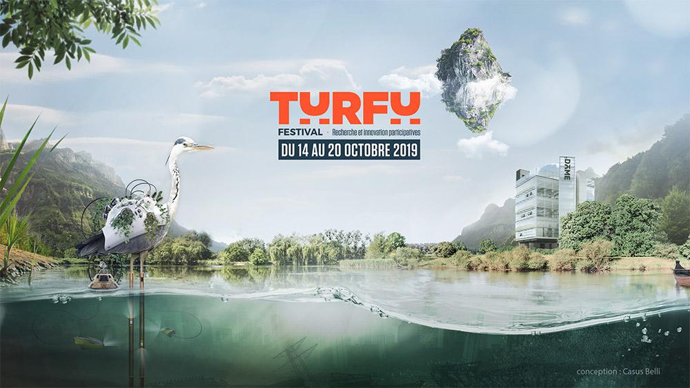 Affiche du Turfu Festival au Dôme de Caen