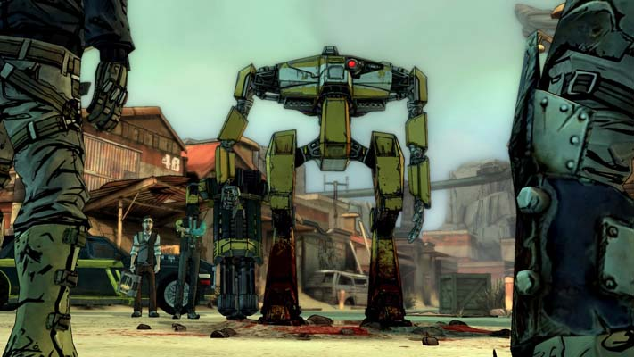Robot chargeur dans Tales From The Borderland