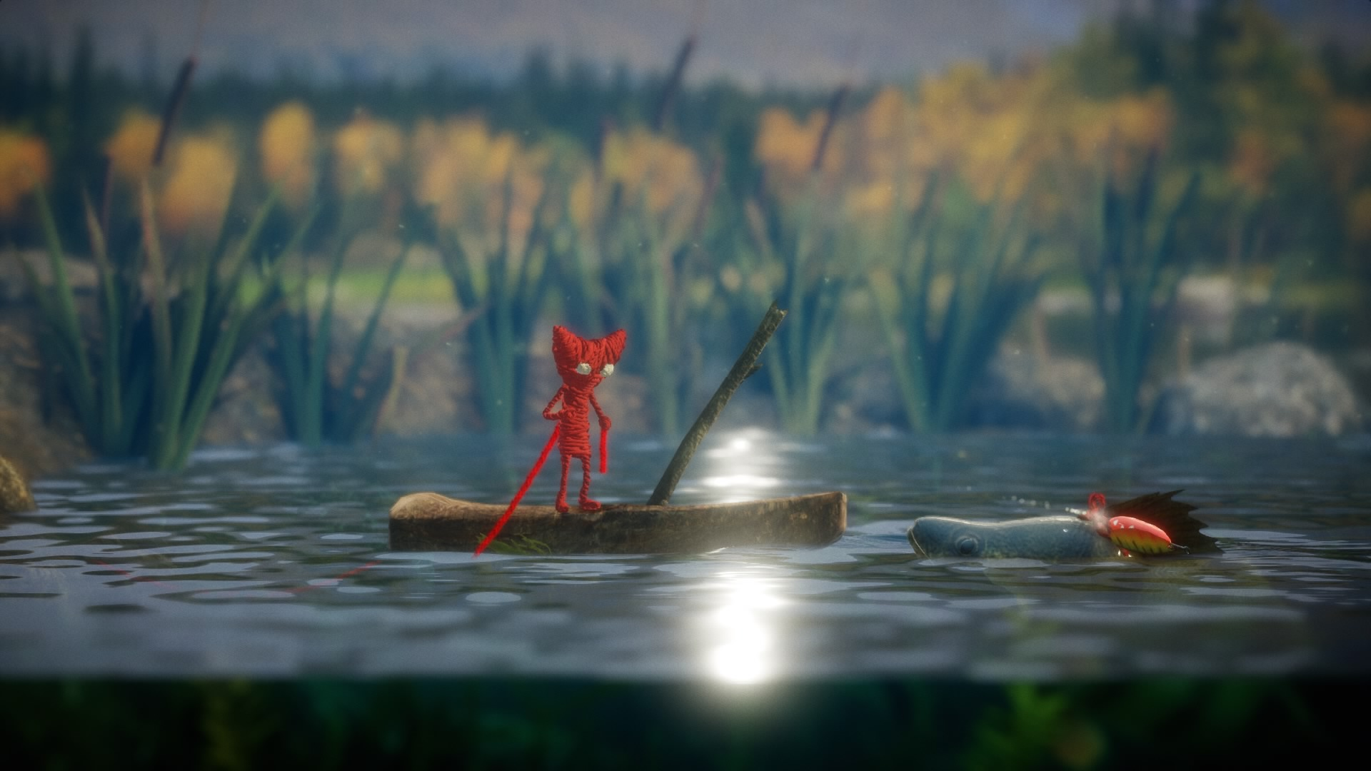Unravel : Yarny sur sa barque