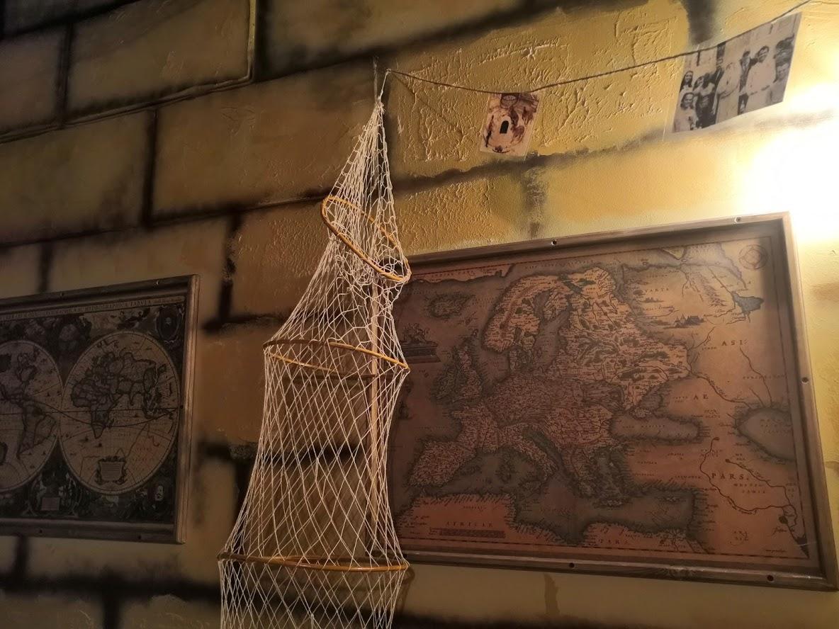 les décors de Fort Boyard chez Team Break Rouen