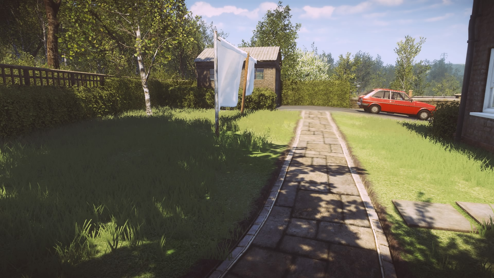Graphismes et animations dans Everybody's Gone to the Rapture