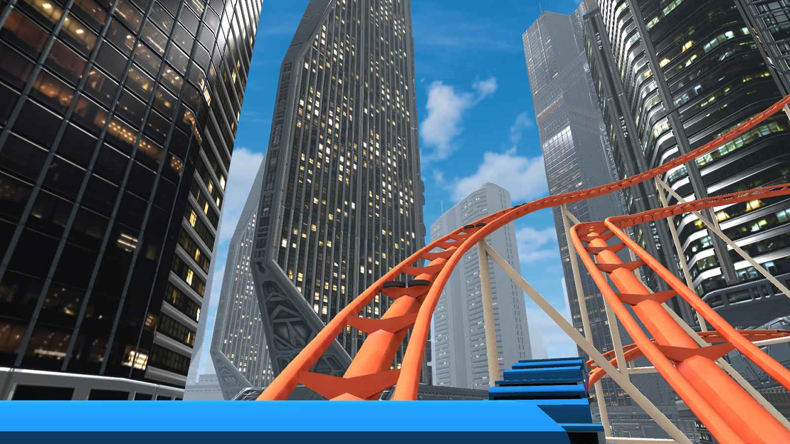 VR Roller Coaster sur le Google Cardboard