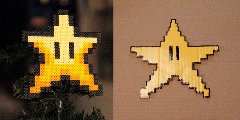 Modèle pour étoile 8-Bit