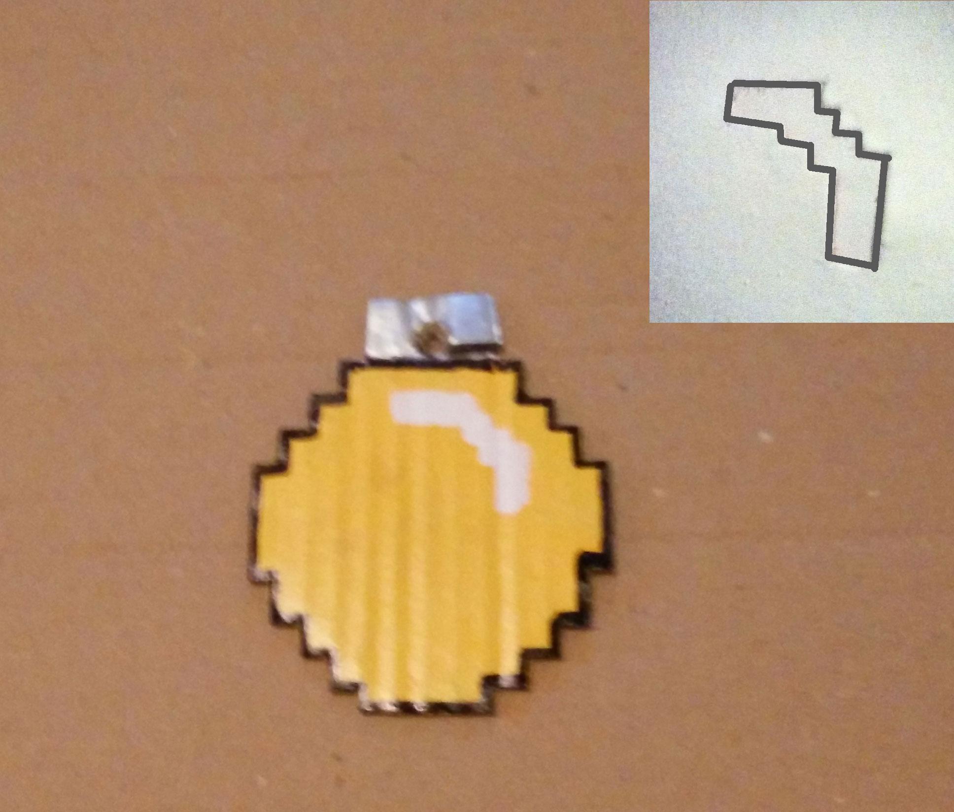 Boule Pixel Pochoir