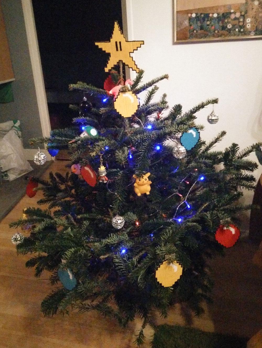 Sapin Geek de Noël