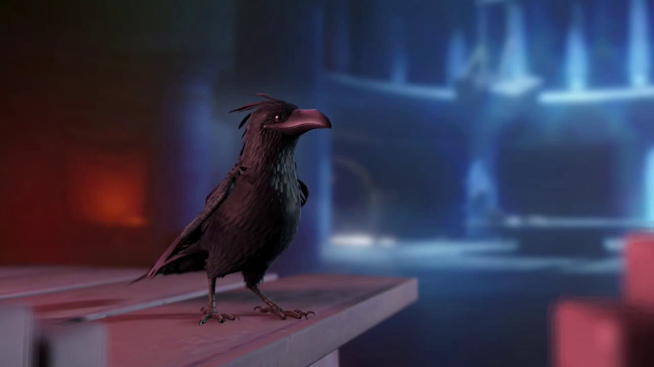 Crow dans Dreamfall Chapters Book 4
