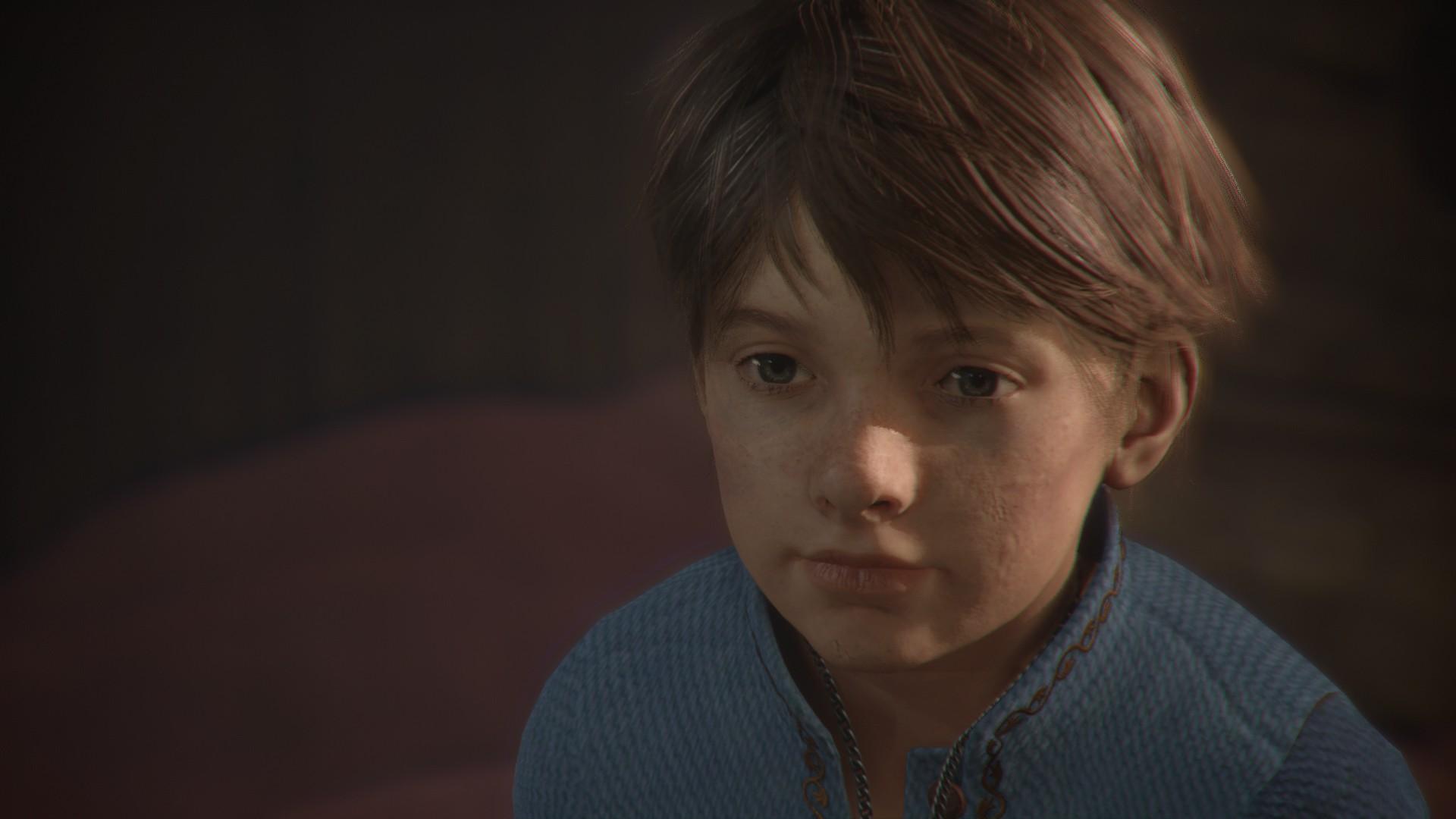 Hugo dans A Plague Tale : Innocence