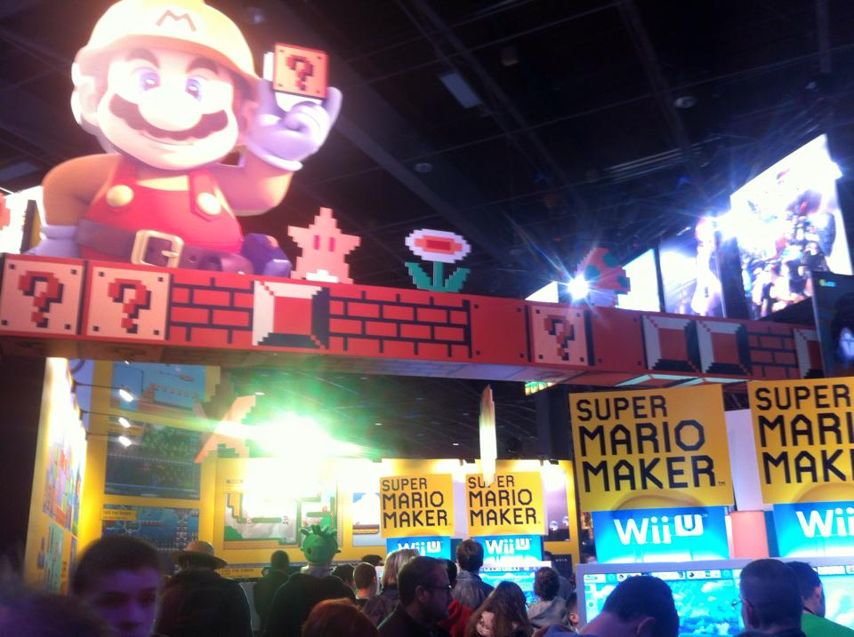 Super Mario Maker à la PGW 2015