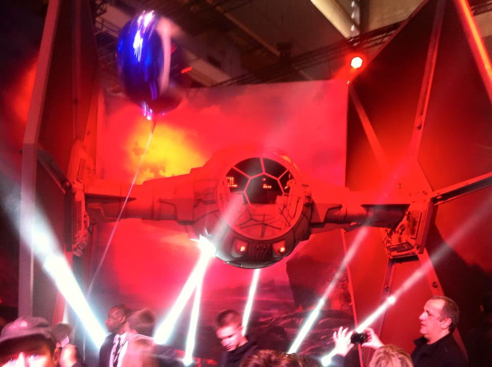 Star Wars Battlefront décor PGW 2015