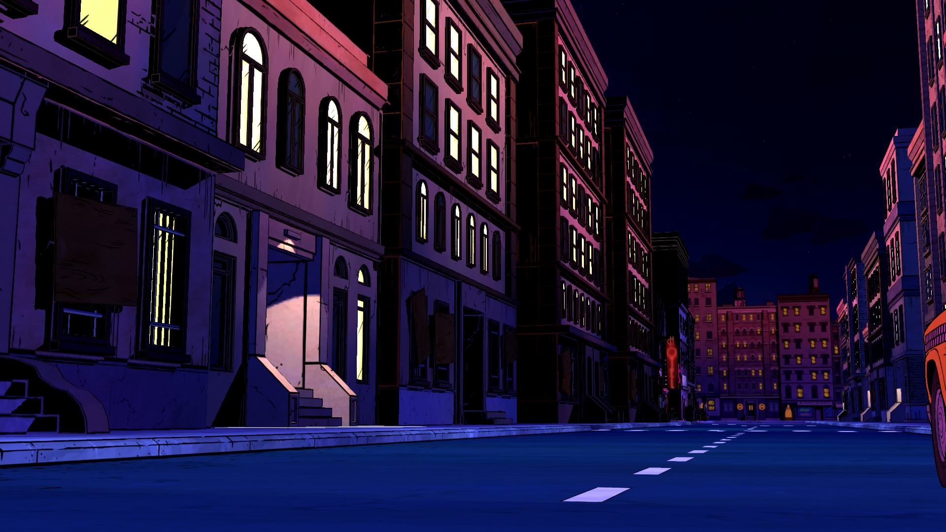 Fableville de nuit - The wolf among us