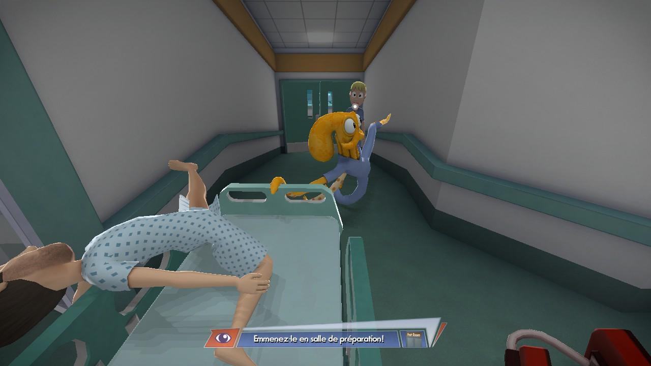 Dans un des bonus, vous incarnez un infirmier... comme vous pouvez !
