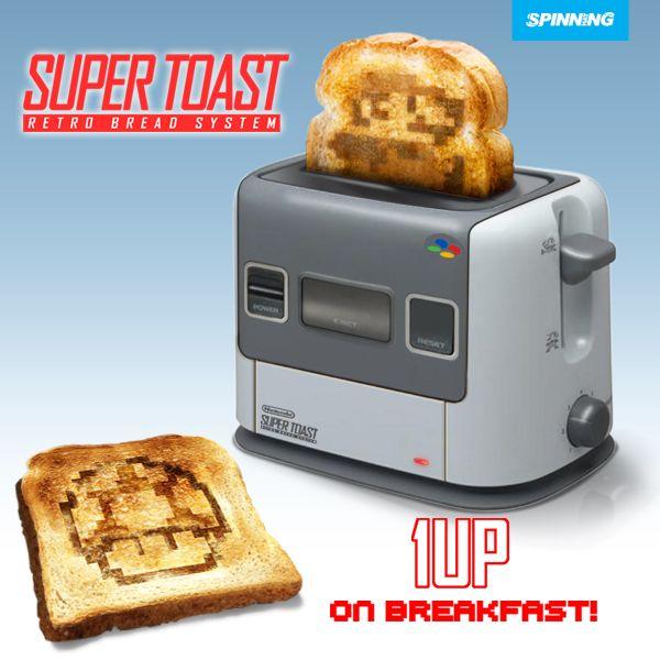 Toaster Nintendo - Déco Geek - Geekmick