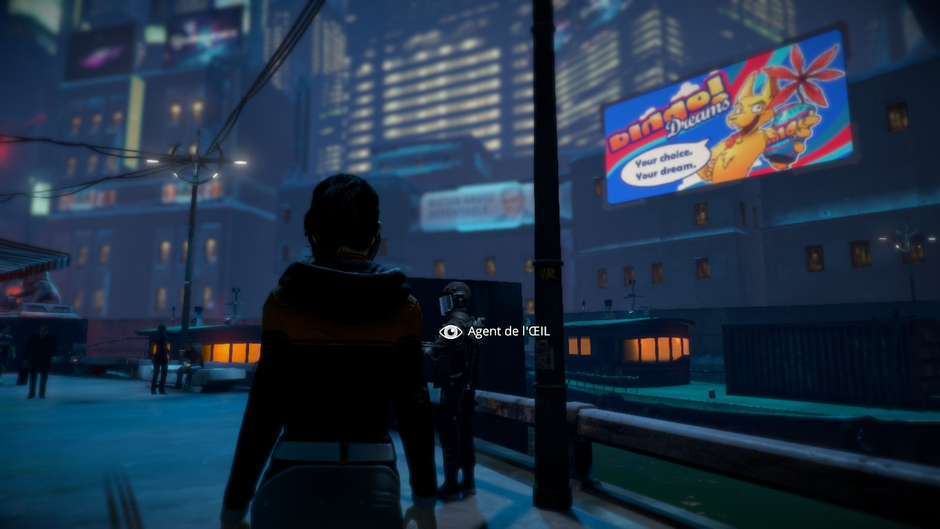 Dreamfall Chapters Book 1, l'Oeil