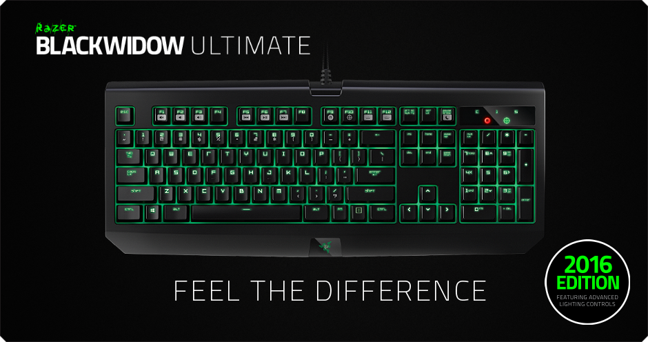 Clavier razer blackwidow 201