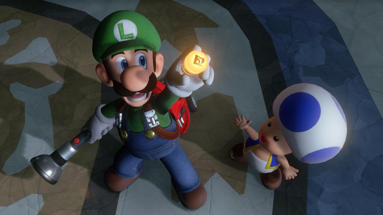 Luigi et Toad dans Luigi's Mansion 3