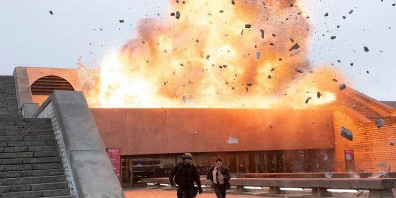 L'explosion de l'opéra dans Tenet