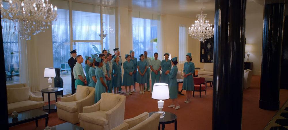 Le crew de l'hôpital