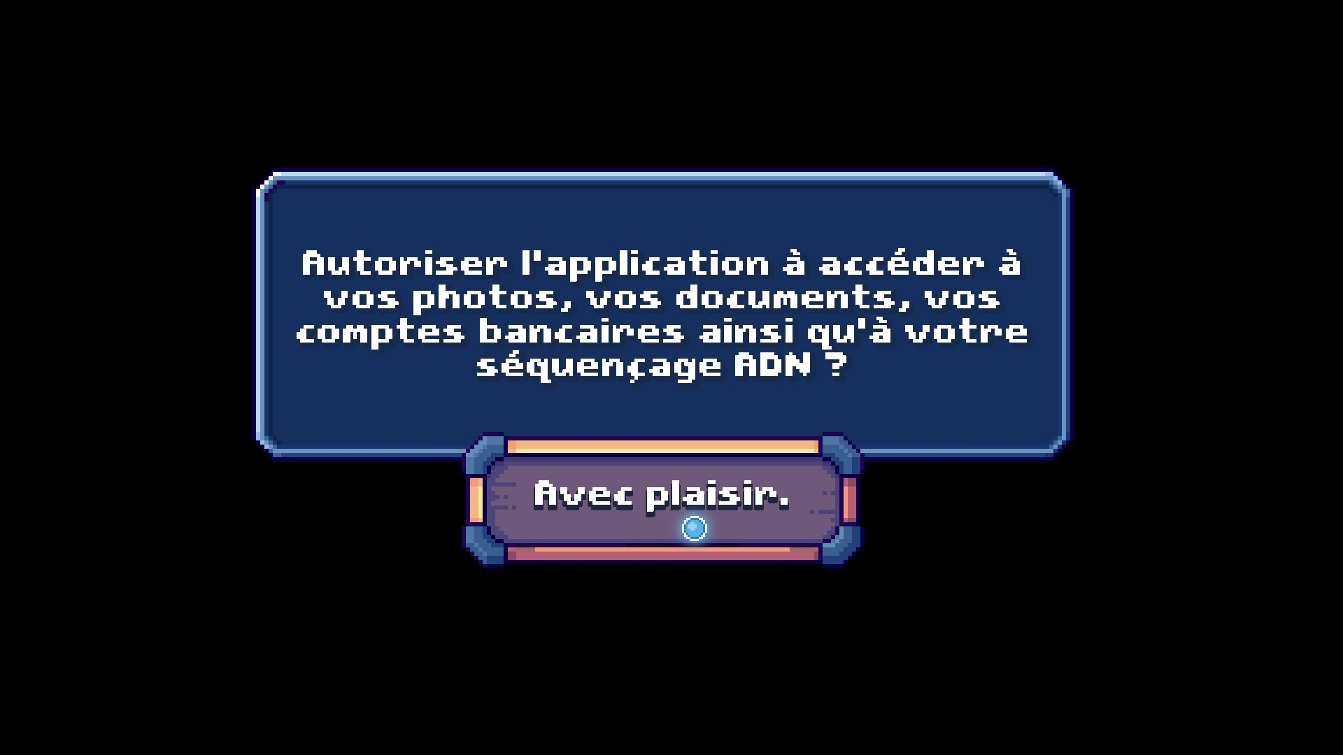 Quand There is no game se moque des applis & jeux mobiles