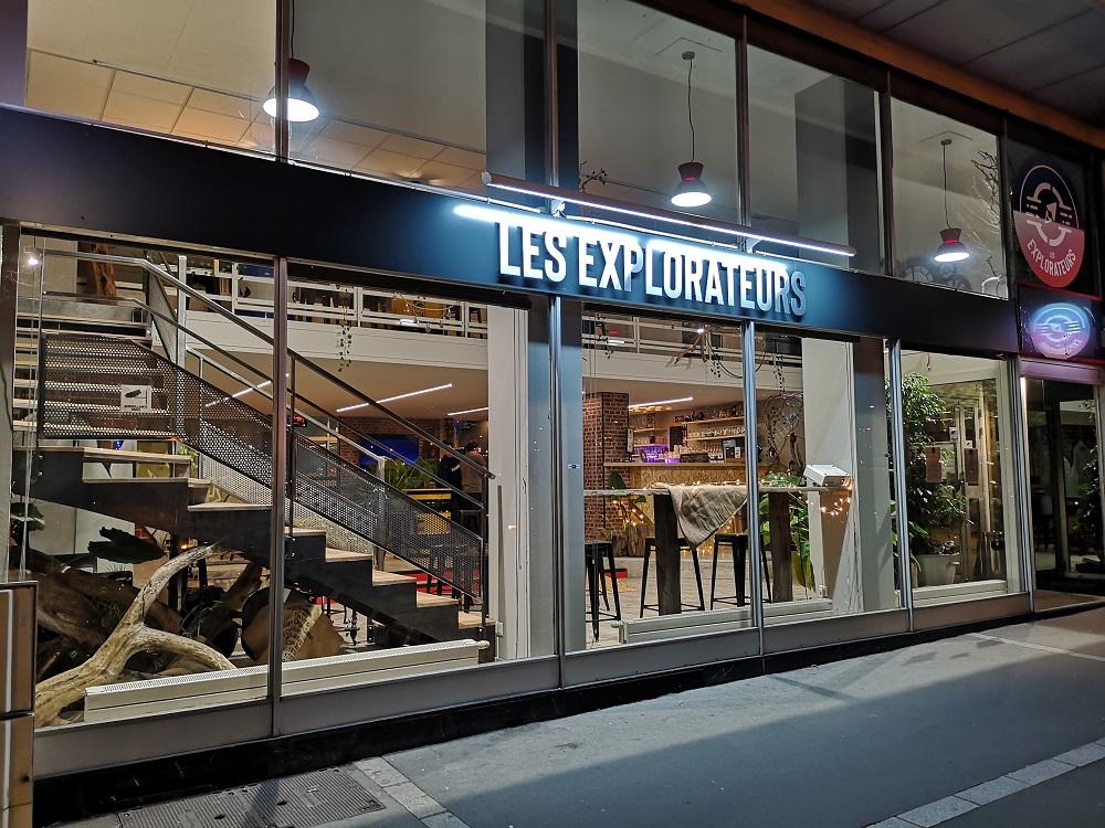 Test du bar Les Explorateurs à Rouen par la team Geekmick