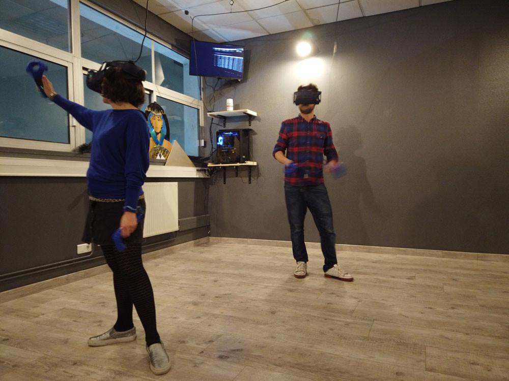 Test des Jeux VR au bar Les Explorateurs Rouen