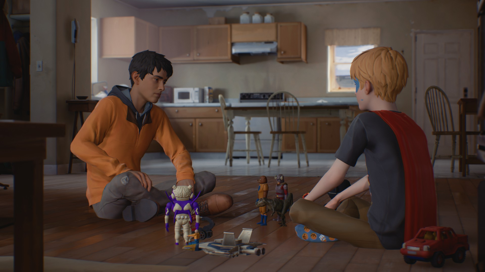 Captain Spirit dans Life is Strange 2 Episode 2