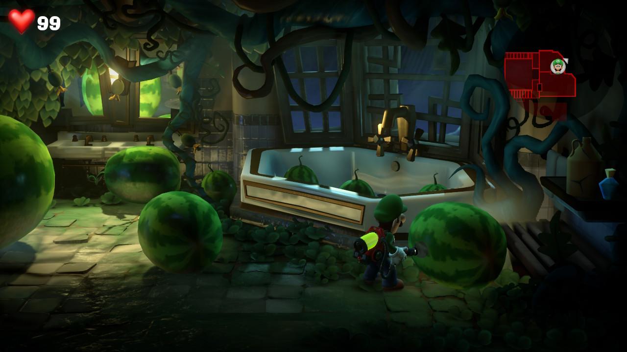 L'Ectoblast dans Luigi's Mansion 3