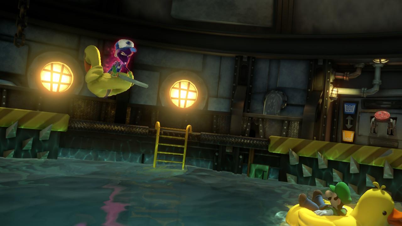 Boss de la chaufferie Luigi's Mansion 3