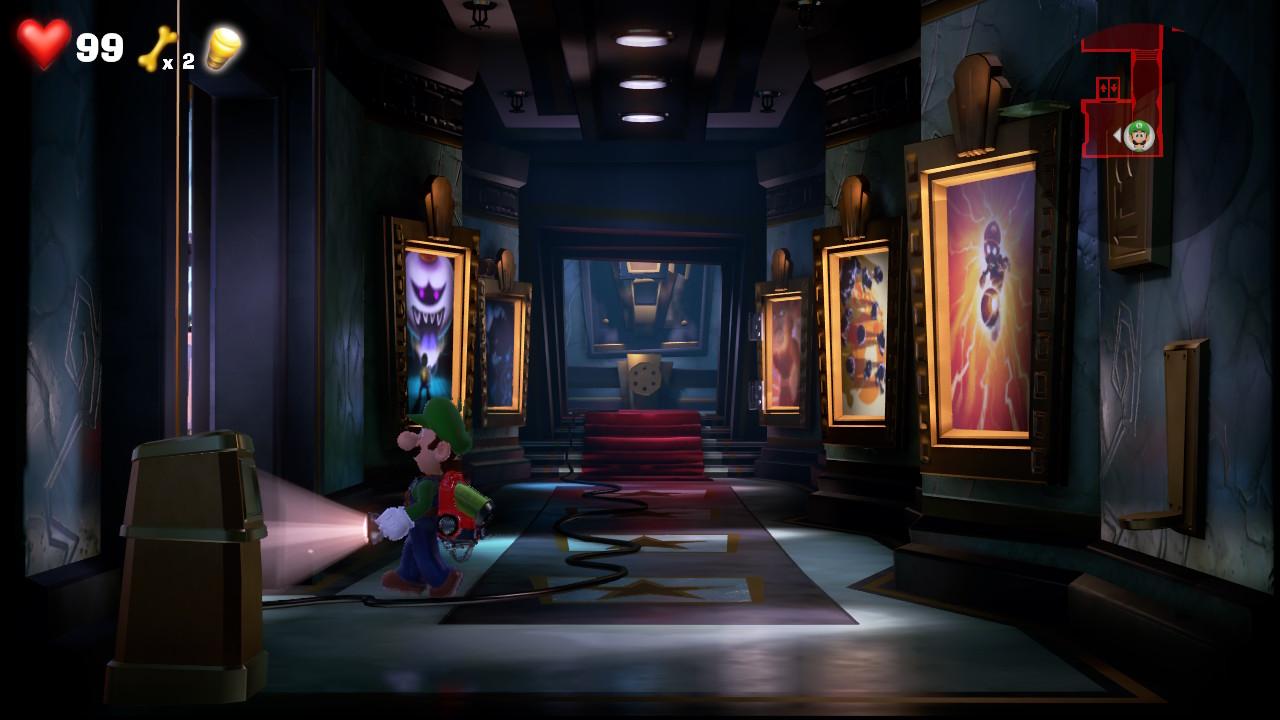Les Easter Eggs dans Luigi's Mansion 3