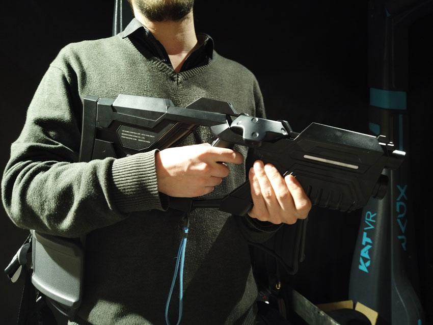 L'arme dans Terra 2054 - Cahem Rouen