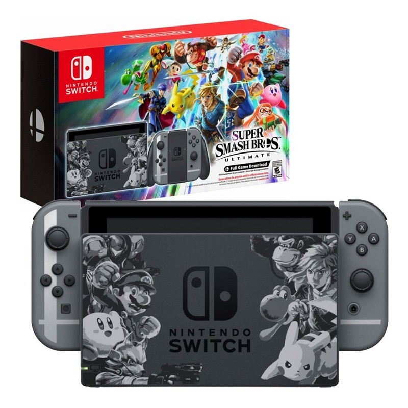 Idée Cadeau : la Switch Super Smash Bros Ultimate Edition