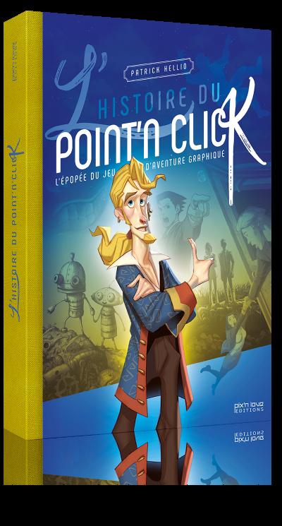 Livre l'Histoire du Point and Click