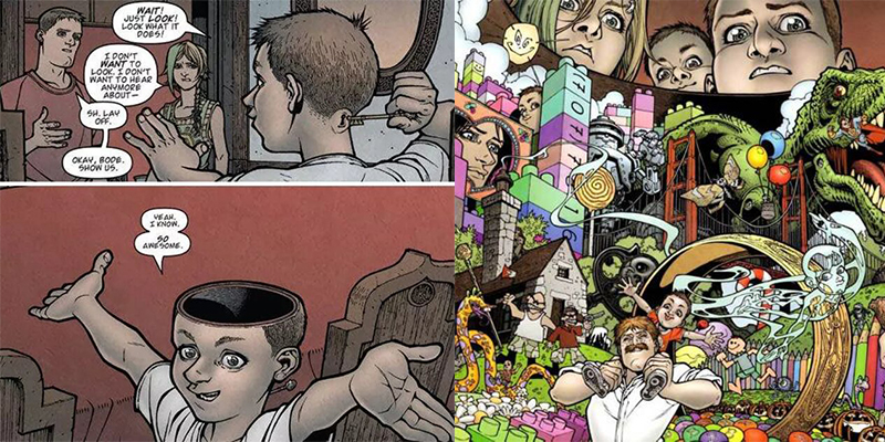 Extrait du comic Locke and Key