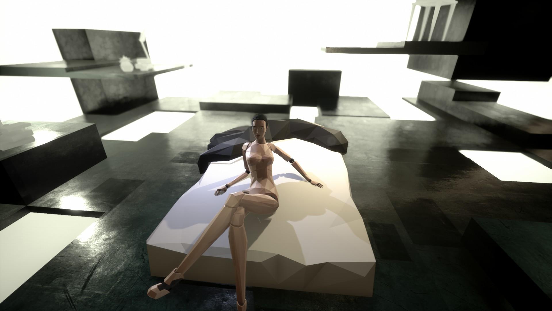 Une femme nue dans State of Mind