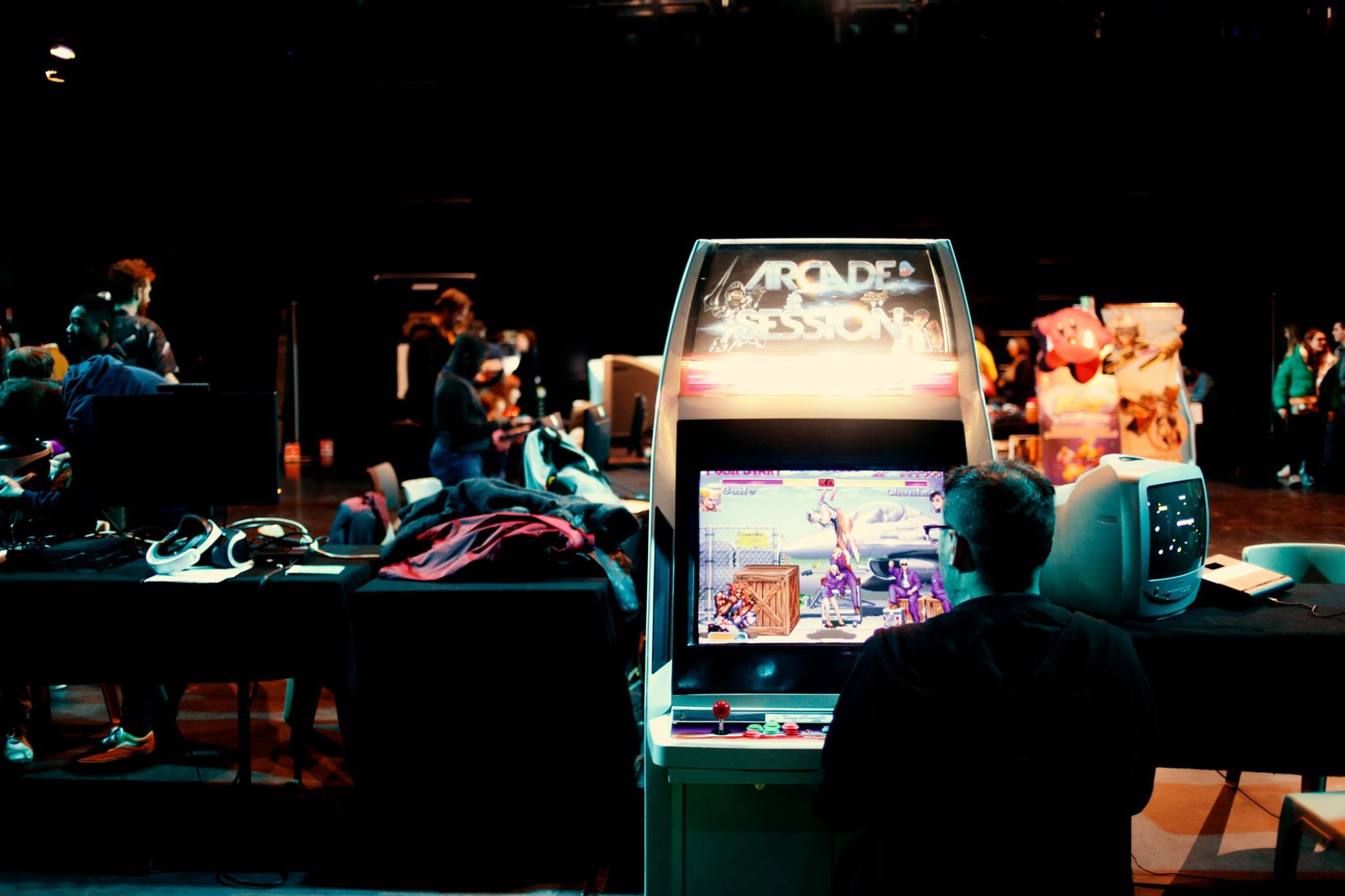 Borne d'Arcade de Matos & Games au Setup Festival