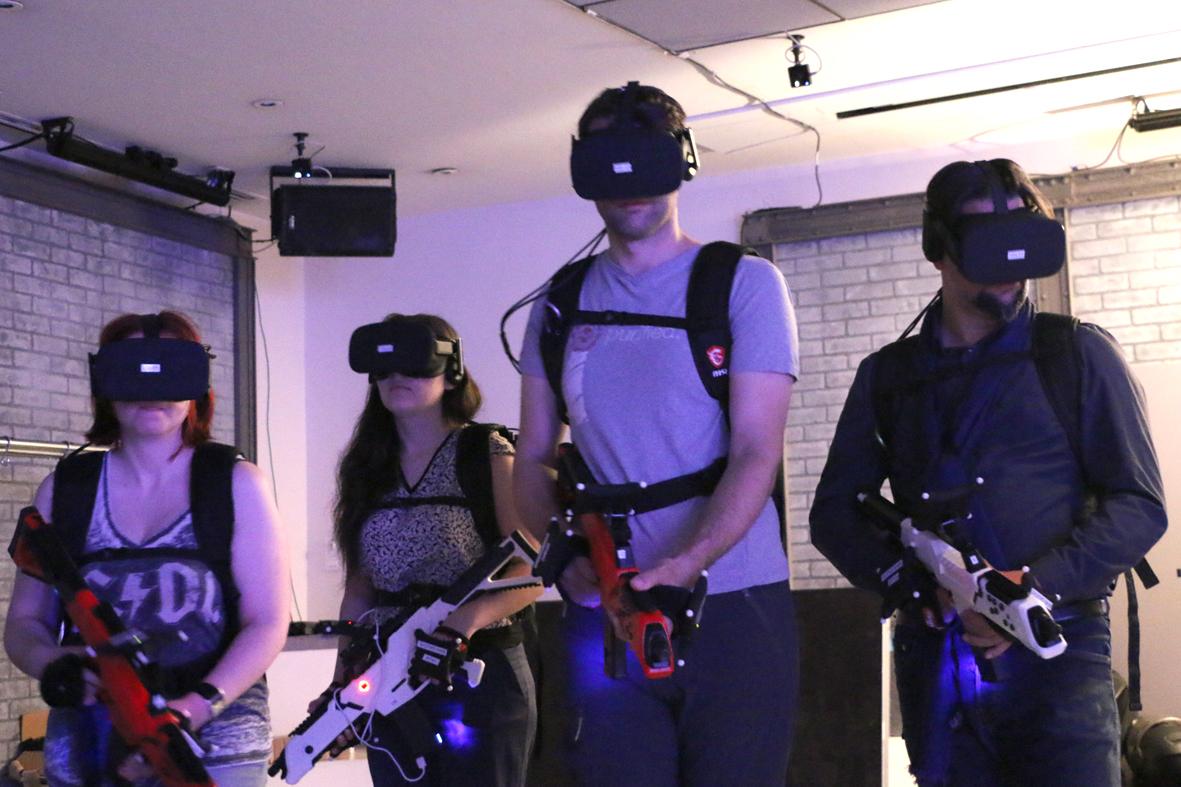 Test de Spartrack VR à Paris