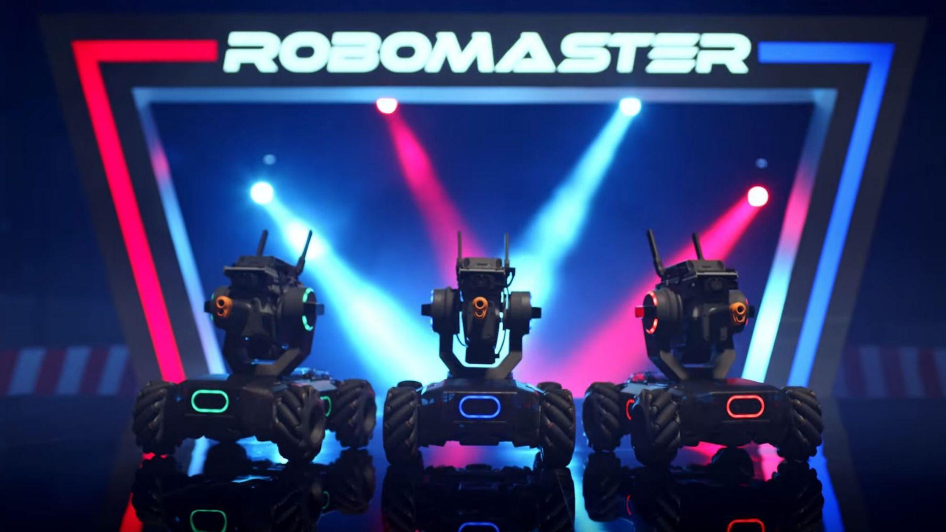 3 Robomaster DJI