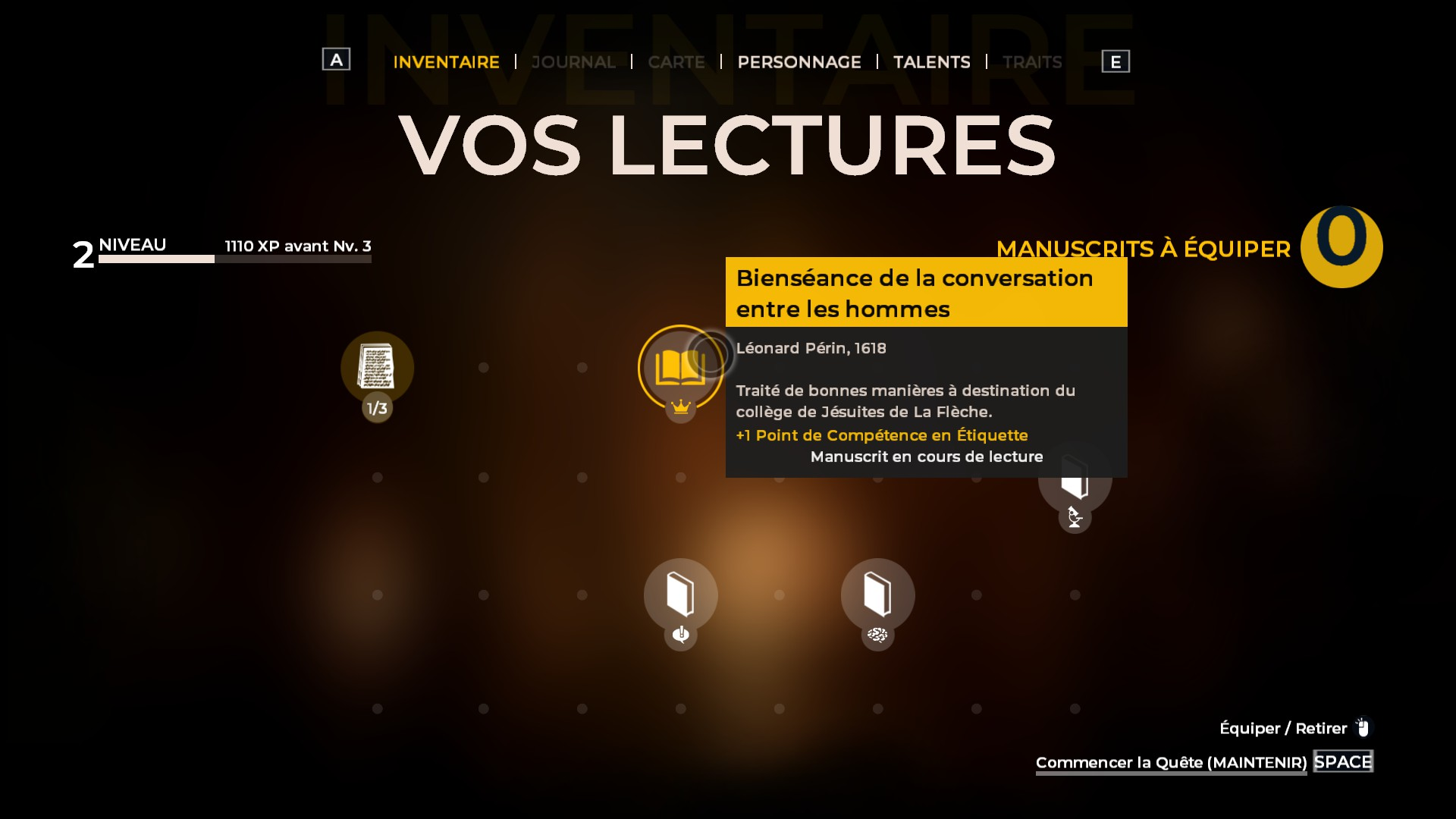Lectures dans The Council