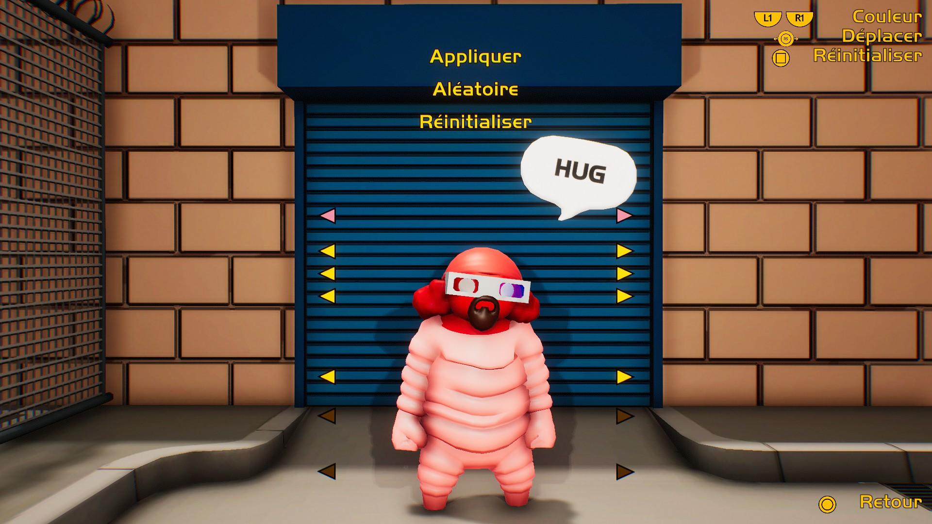 Gang Beasts est un jeu vidéo de type party game multijoueur en local développé par Boneloaf Games, édité par Double Fine Productions et sorti sur Steam en accès anticipé en août 2014 pour les plateformes Microsoft Windows, Mac OS X Linux et PlayStation 4.