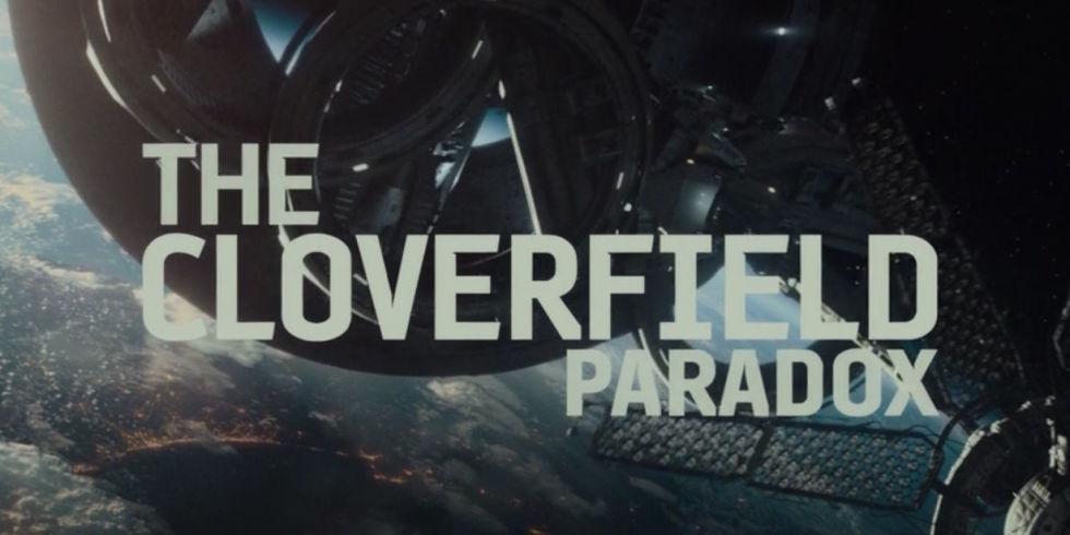 The Cloverfield Paradox :La typo est sympa, au moins