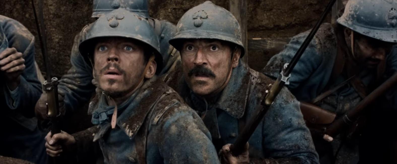 Deux trouillards sur le champ de bataille