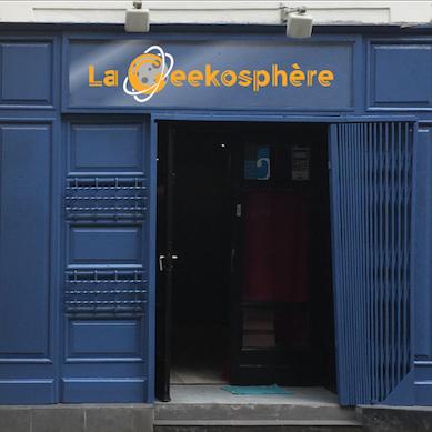 La Geekosphère, bar gamer à Rouen