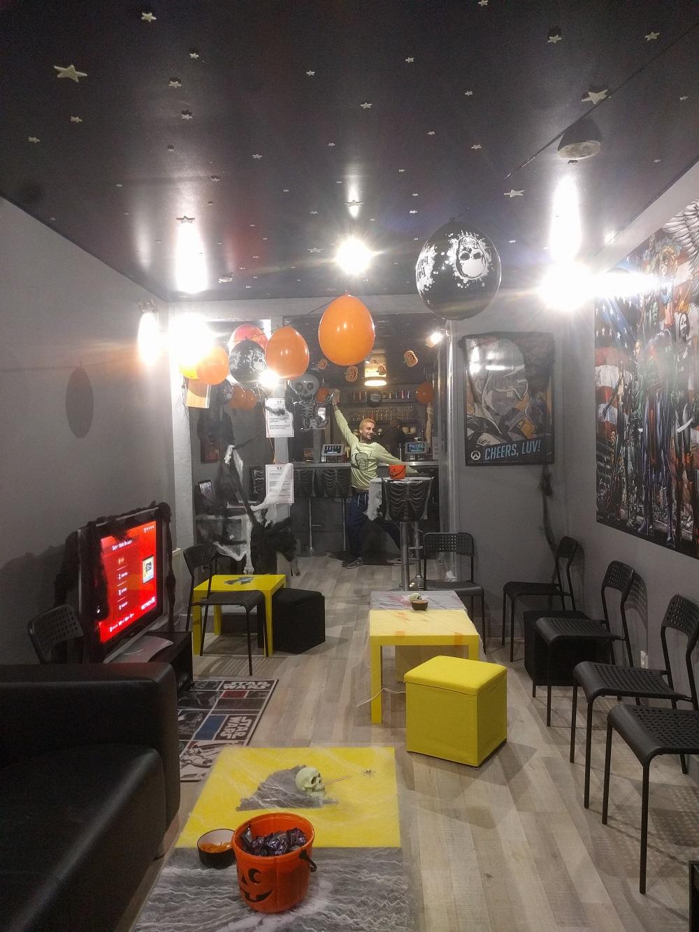 La Geekosphère : bar gaming quartier Saint Hilaire à Rouen