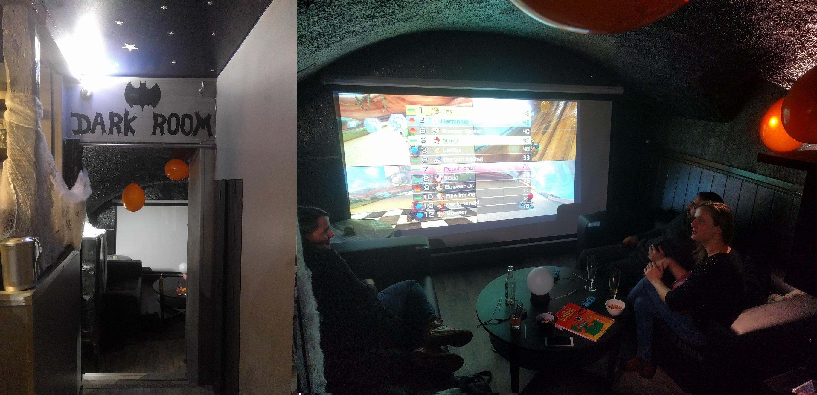 La Dark Room de la Geekosphère à Rouen