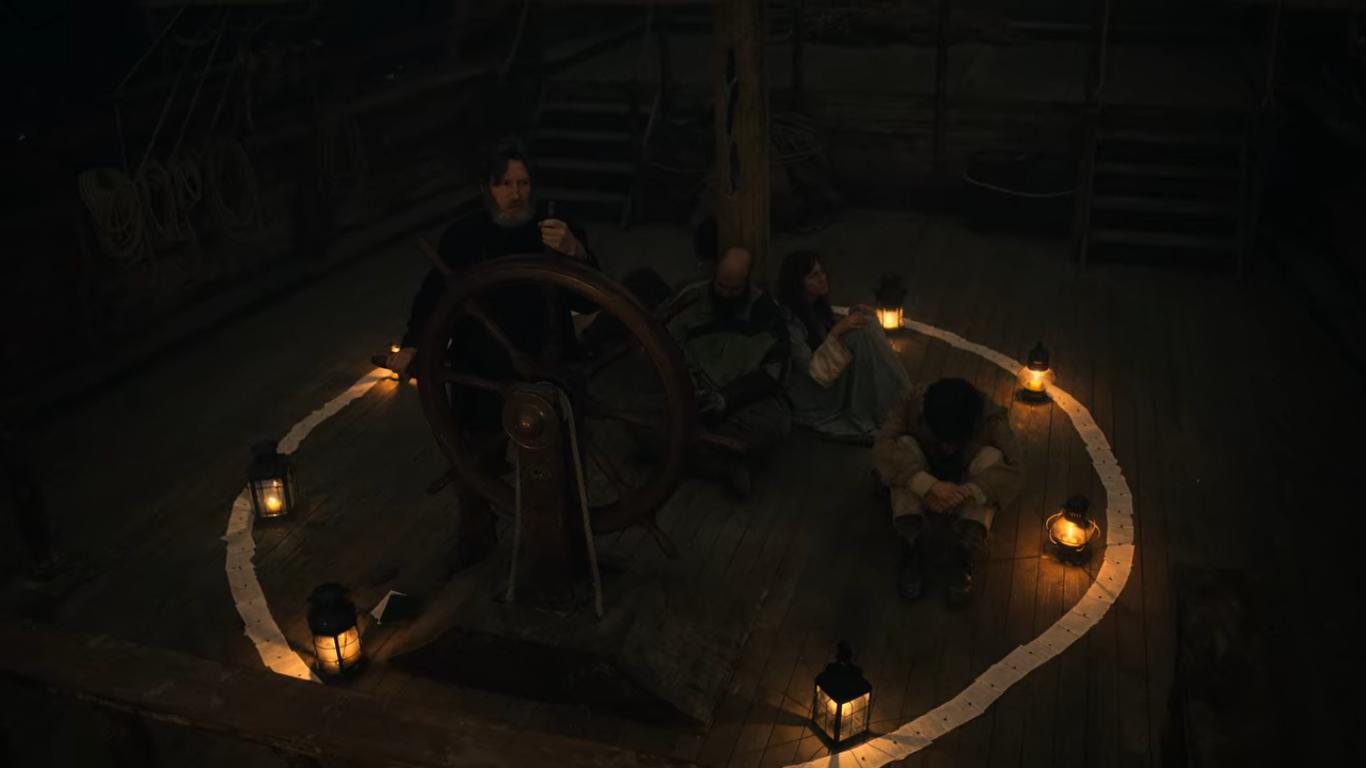 Un bateau vers la mort