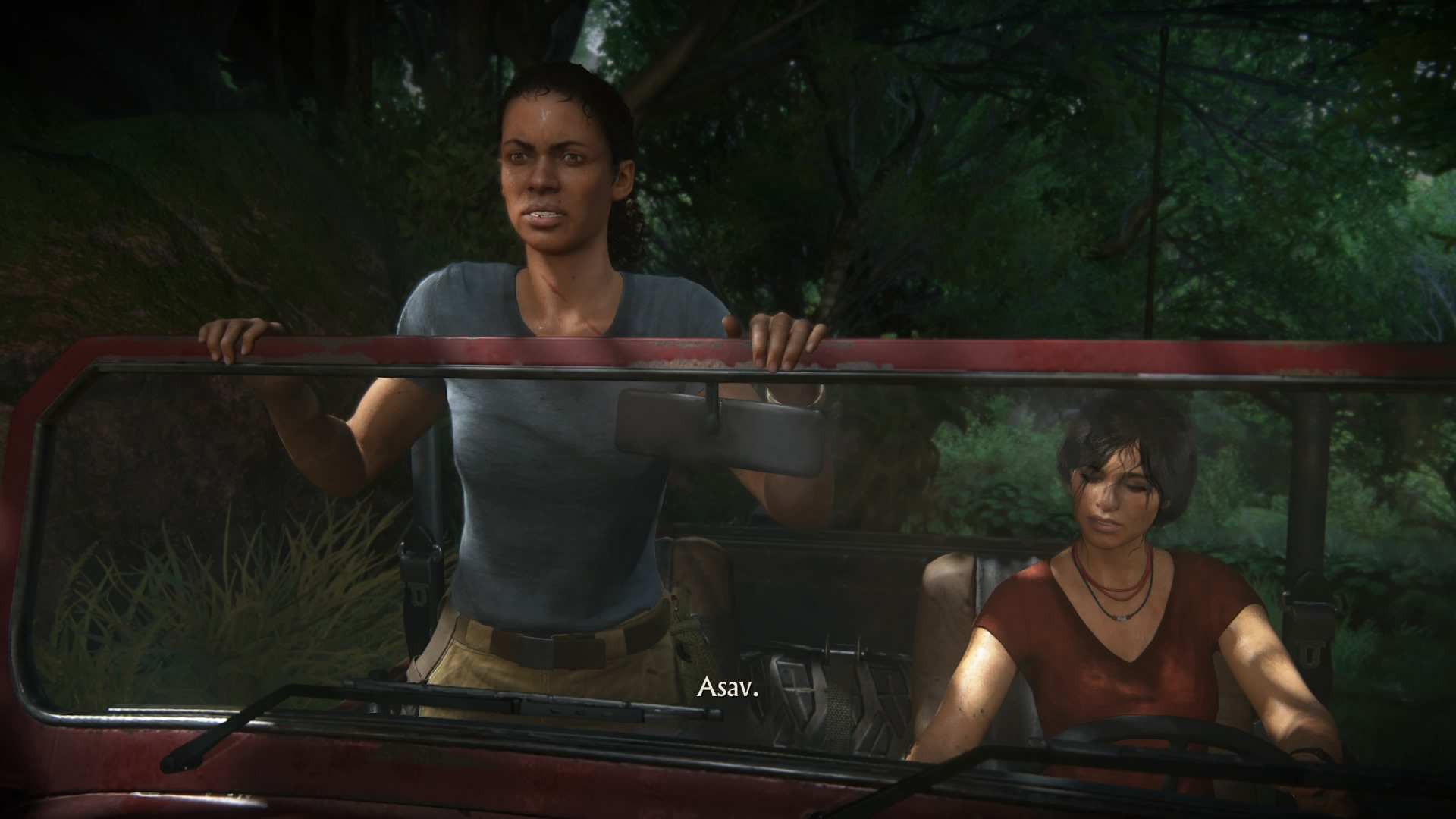 Duo Chloé Frazer Nadine Ross dans Uncharted The Lost Legacy