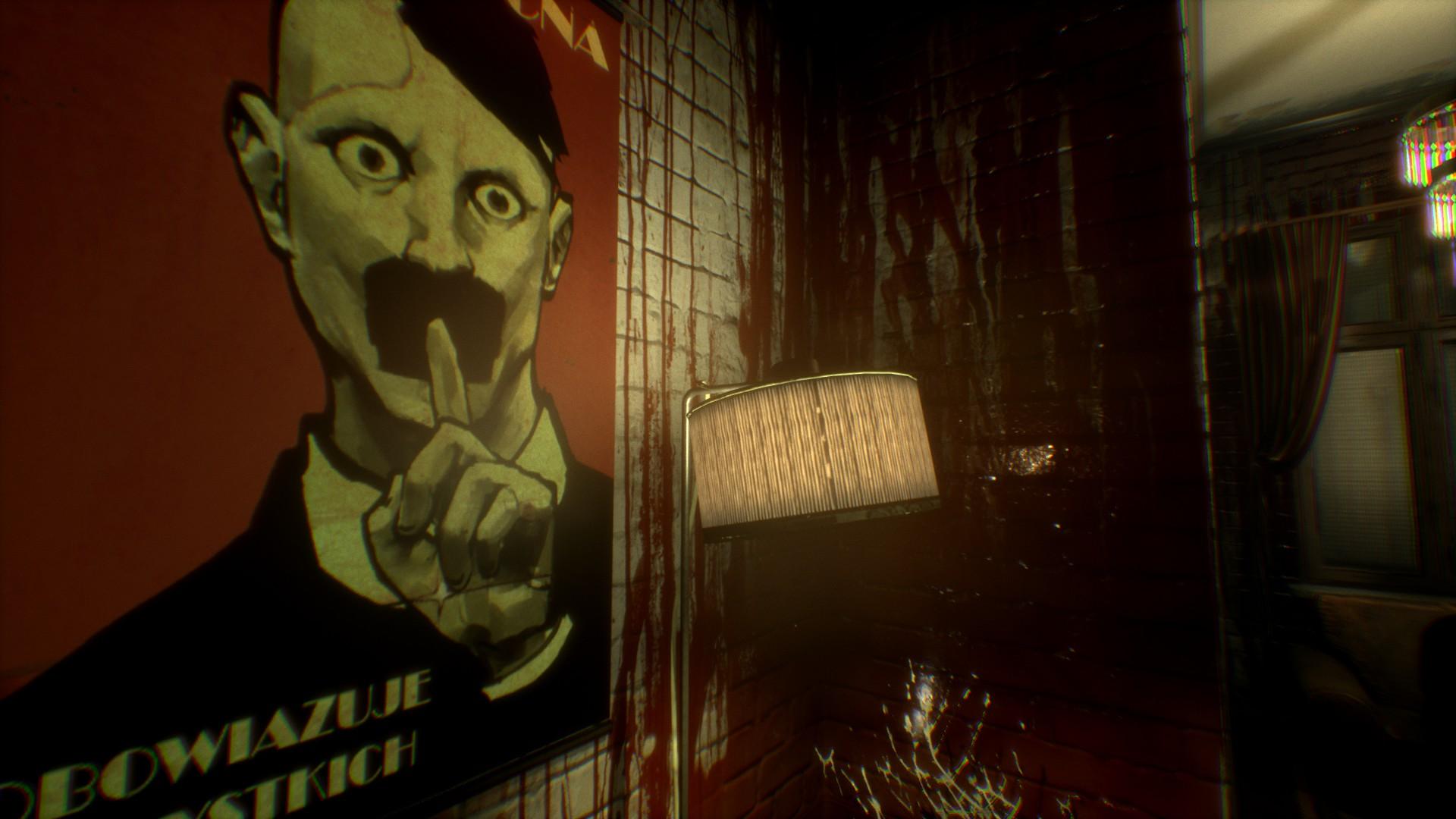 Observer : affiche Hitler & Big Brother 1984