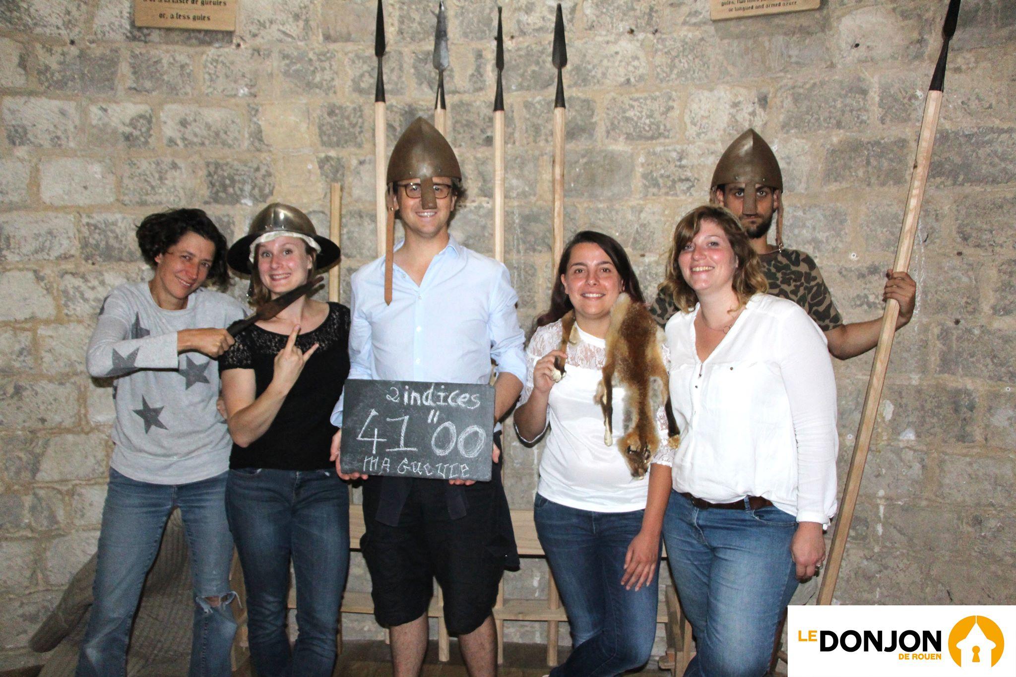 Escape Game : Le Complot de Damartin au Donjon de Rouen
