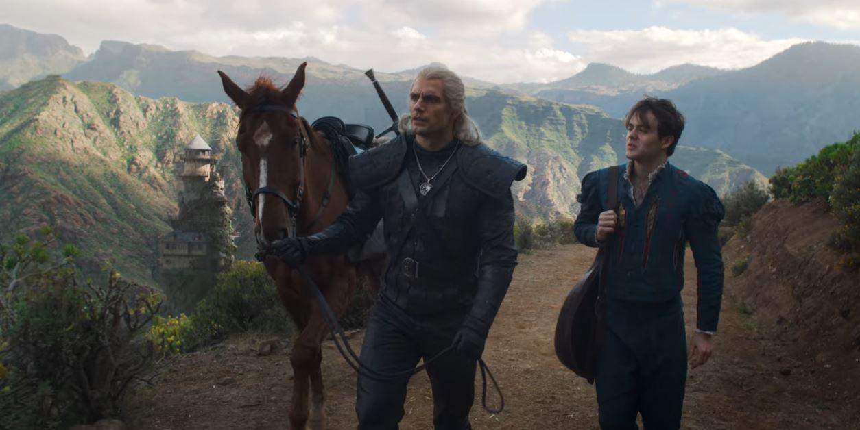 Geralt et Jaskier
