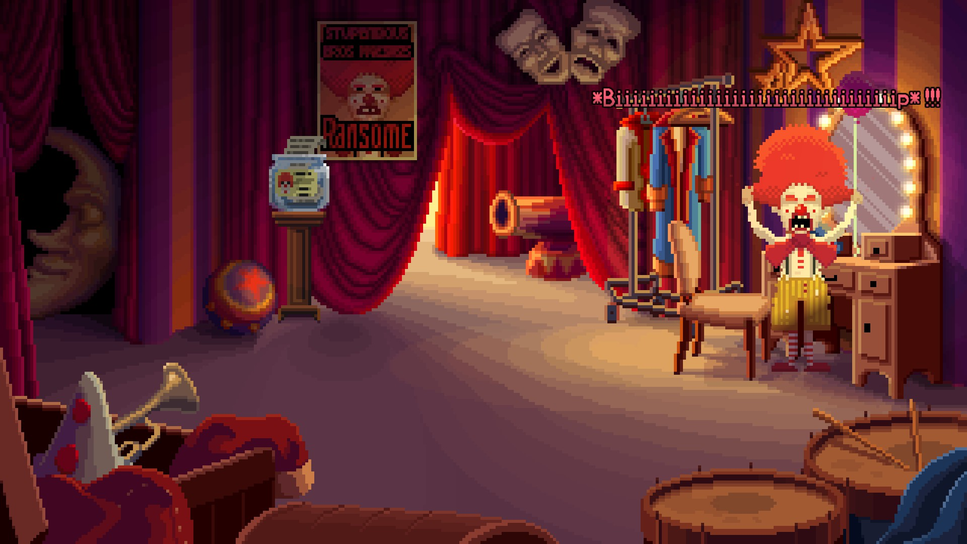 Ransome dans Thimbleweed Park